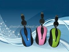 New Mini Optical mouse(Lx-608)