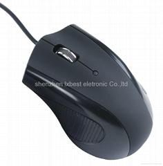 2012熱銷光電有線鼠標LX-577