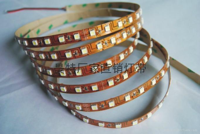 广东厂家直销批发 3528-60-12v裸板灯带 七彩可选 1