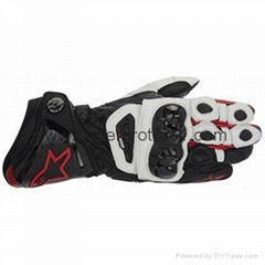 Motorcycle Racing Leather Gloves