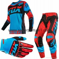 2017 motorcross wearing sets rider clothing set jerseys t-shirts pants gloves