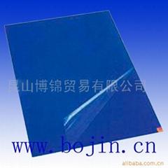Dust catcher mat glue