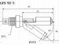 LSYZ-7侧装浮球液位传感器