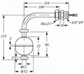 不锈钢液位开关LSS2A2 3