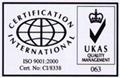 ISO 9001:2000 认证企业 1
