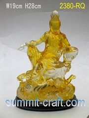 Resinic Buddha Statue-Hindu Gods Statues