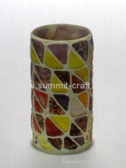 custom resin glass flower decoration vase