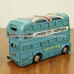 London bus piggy bank money boxes