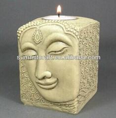 buddha candle holder for tea lights