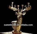 European polyresin deer head