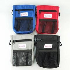 Pet Treat Pouch With Poop bag Dispenser With Adjustable Belt