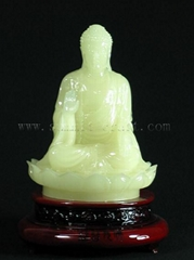 Luminous Polyresin Buddha