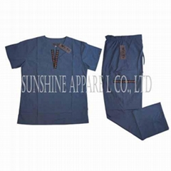 China medical scrubs uni