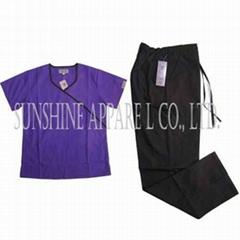 China nurse uniform scru