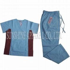 China medical scrubs