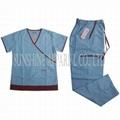 China hospital scrubs uniform