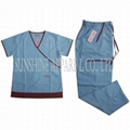 China hospital scrubs uniform