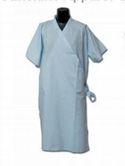 Hospital patient gowns
