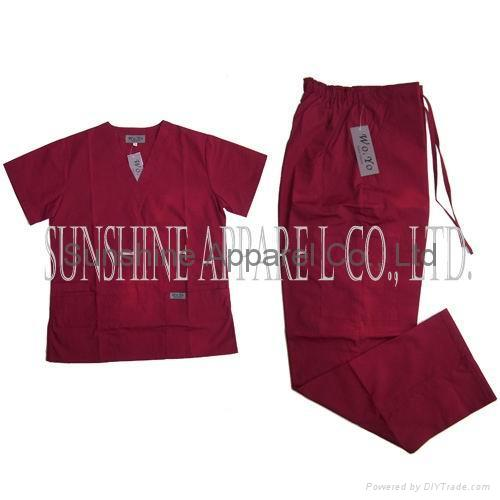 China medical scrubs 1