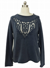 China lace sweater