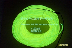 EL發光線/EL冷光線/瑩光綠