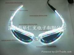 EL电子光源眼镜-白光