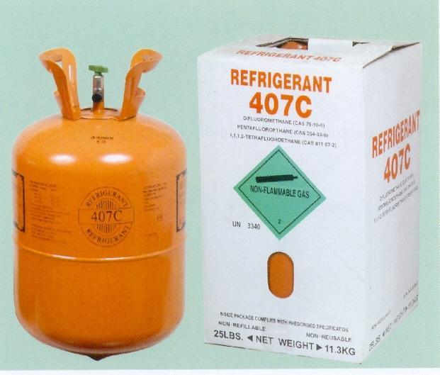 Refrigerant gas R407C 1