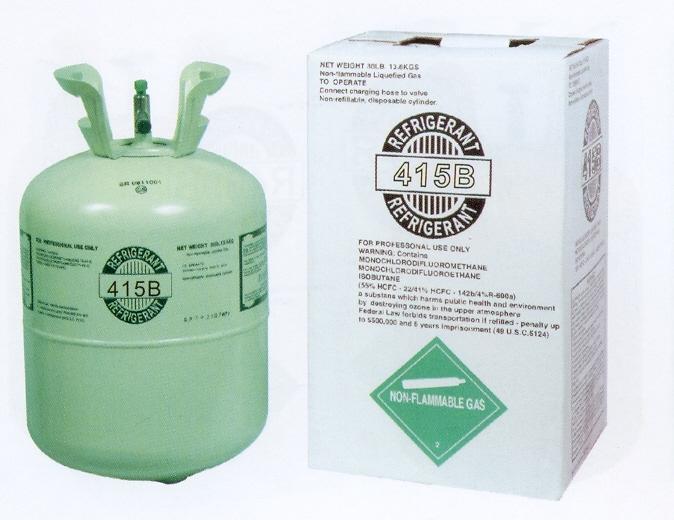 Mixed refrigerant gas R415B