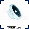 Super fisheye lens for smartphone lens