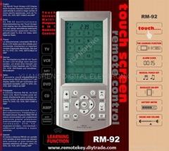 RM-92触摸屏  遥控器