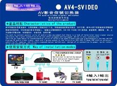 AV  转换器