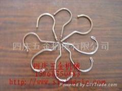 衣架鉤機花蘭環自動機花蘭弔環機