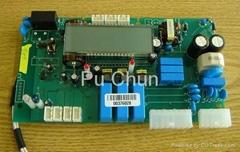 电表和电子表的电子组件