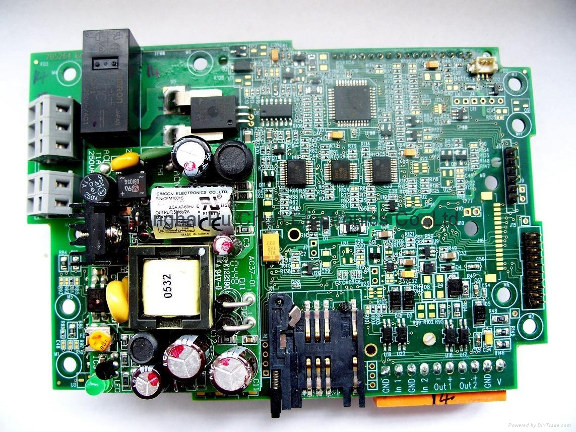 Electronic Assembly Companies : Pcb and assembly with components pcba spc china