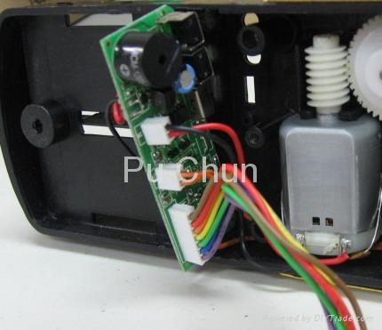門鎖的電子組件 1