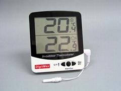 特大显示屏室内外温度计