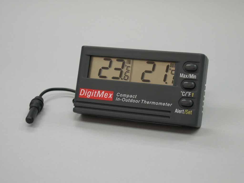 輕巧室內外溫度計 1