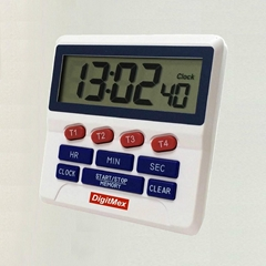 4 channel Digital Timer Clock