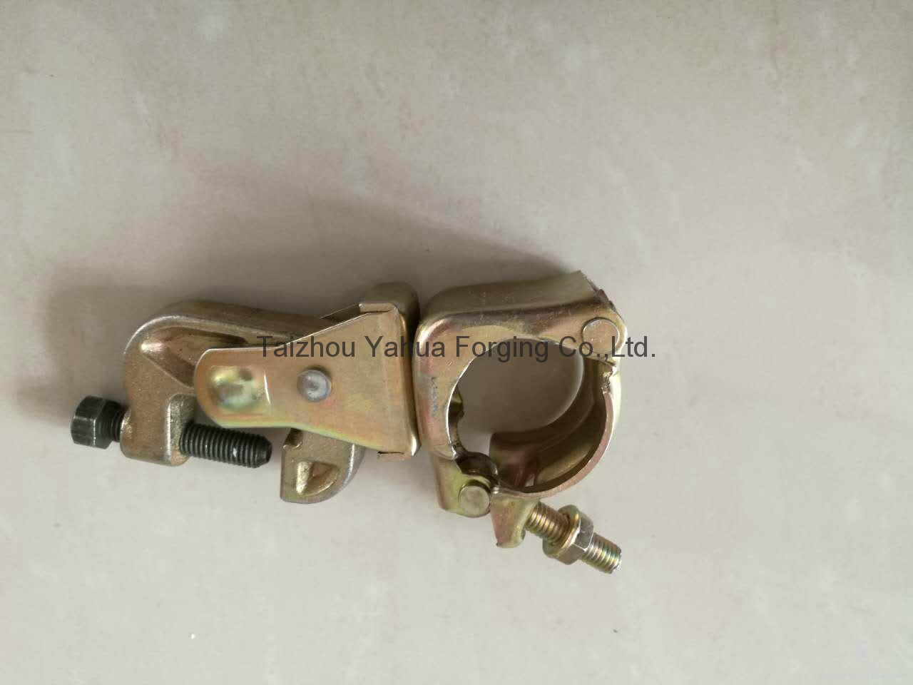 fixed girder clamp pressed