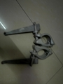 drop forged clamp with weged