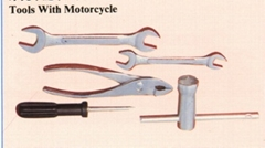 tools with motorcycle