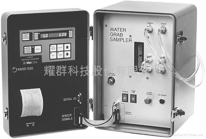 Liquid Particle count data for water treatment