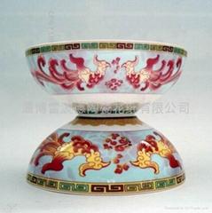 陶瓷餐具花纸