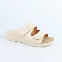 women flat leather sandal shoes fashion casual shoes summer footwear hot sale