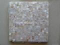Mesh 15x15mm/300x300mm White MOP Mosaic