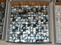 Mesh 20x20mm/300x300mm Blacklip Seashell MOP Mosaic Tile, Butt-joint gap format