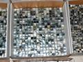 mesh 15x15mm/305x305x2mm Black Mother of