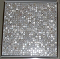 mesh 10x10mm/300x300mm white Mother of