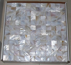 mesh Mother of Pearl Mosaic tile