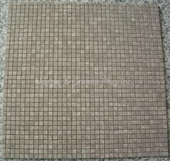 Chinese version Light Emperador mosaic tile